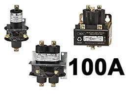 100 Amp Mercury Contactor Relay