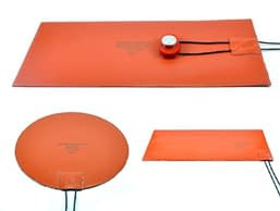 Silicone Rubber Heaters Flat