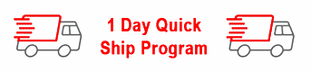 1 day Quick Ship Program